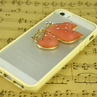 cute butterfly iphone 5s cover iphone 5c case cell phone covers iphone 4s otterbox gift for women girl friend best iphone 5s 5c 4 clear case
