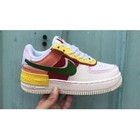 Nike Air Force 1 Shadow Deconstructed Low-Top Women's Sneakers Shoes