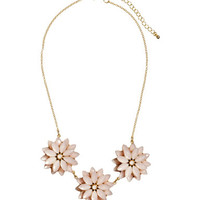 H&M Floral Pendant Necklace $12.95