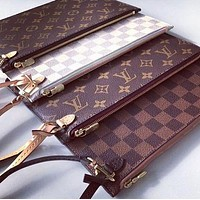 Louis Vuitton LV Fashionable Women Monogram Coin Bag Key Bag Zipper Wallet Bag