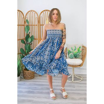 Comes In Waves Dress