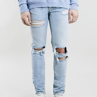 NEW AGE RIP SKINNY FIT JEANS - Last Chance To Buy - Clothing