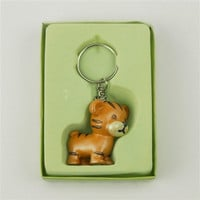 Baby Shower Favor Key Chain, 4-inch, Tiger