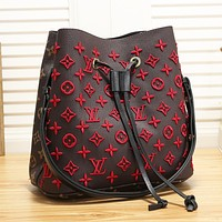 Louis Vuitton LV Fashion Women Shopping Leather Bucket Bag Satchel Crossbody Shoulder Bag