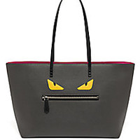 Fendi - Buggie Textured Leather Roll Bag - Saks Fifth Avenue Mobile