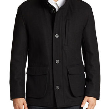 Andrew Marc Terry Utility Jacket