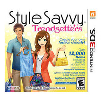 Style Savvy: Trendsetters (Nintendo 3DS, 2012) *New Factory Sealed*