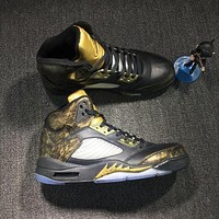 Air Jordan 5 Retro Wings AJ5 Sneakers
