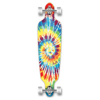 Punked Tiedye Original Drop Through Longboard 40""