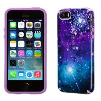 Speck Products CandyShell Inked Case for iPhone SE/5/5S -Retail Packaging- Galaxy Purple/Revolution Purple