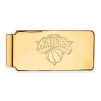 NBA New York Knicks Money Clip in 10k Yellow Gold