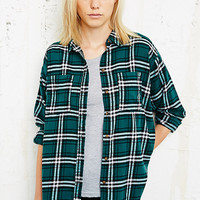 BDG Flannel Shirt in Green - Urban Outfitters