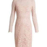 Long-sleeved Cordonetto-lace dress | Dolce & Gabbana | MATCHESFASHION.COM US