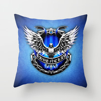 HARRY POTTER RAVENCLAW Throw Pillow by Veylow