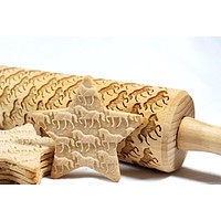 Decorative Engraved Rolling Pins