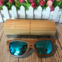 Men/Women Designer Wooden Sunglasses POLARIZED LENS