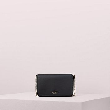 sylvia chain wallet crossbody