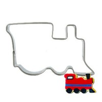 Train Egg Tools Cookie Cutter Biscuit Stamp Press Mould Stainless Steel Modelling Form Baking Tools