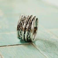 Layered Spinner Ring