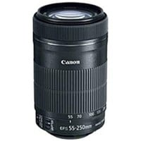 Canon - 55 mm to 250 mm - f/4 - 5.6 - Telephoto Zoom Lens for Canon EF/EF-S - 58 mm Attachment - 0.29x Magnification - 4.5x Optical Zoom - Optical IS - STM - 2.8Diameter