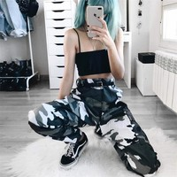 Women's Fashion Street Camouflage Casual Pants [231671037967]