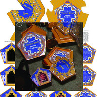 Harry Potter Chocolate Frog Boxes & Matching by brittadotcom