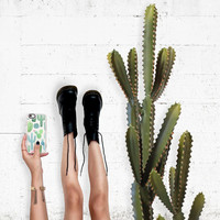 Lovely iPhone 6s & 6s Plus Case (Watercolor Desert Cactus Garden Pattern) by Casetify