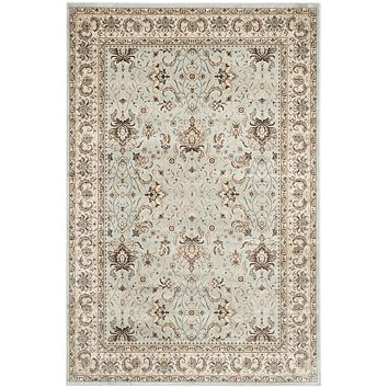 Safavieh Persian Garden PEG607L Light Blue / Ivory