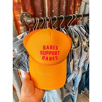 BABES SUPPORT BABES SNAPBACK