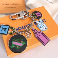 Louis Vuitton Lv Stories Bag Charm And Key Holder M63759 - Best Online Sale