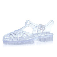 River Island Girls clear jelly sandals