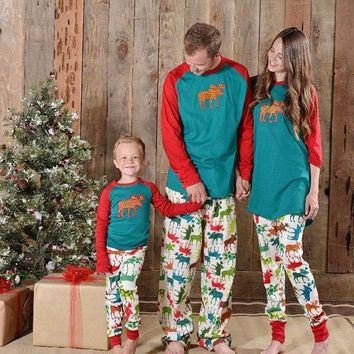 Family Matching Christmas Sleepwear