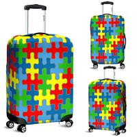 Autism Awareness Luggage Cover