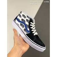 Vans SK8 HI MID cheap mens and womens Fashion Canvas Flats Sneakers Sport Shoes