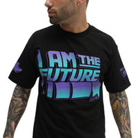 8&9 Clothing I Am The Future Grape Shirt