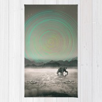 Spinning Out of Nothingness Rug by Soaring Anchor Designs | Society6