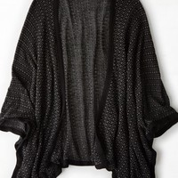 AEO Women's Don't Ask Why Open Blanket Cardigan