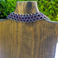 Bonds of Love Stainless Steel and Niobium Choker Collar D/s - Ready To Ship