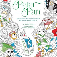 Peter Pan Coloring Book CLR CSM