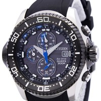 Citizen Promaster Eco Drive Aqualand Chronograph Diver's BJ2110-01E BJ2110-01 BJ2110  Men's Watch