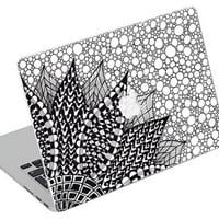 Stickers Macbook Decal Skin Macbook Air Skin Pro Skins Retina Cover Paint Colors Picture Christmas Gift New Year ( rm32)