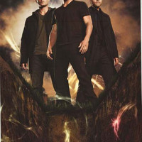 Supernatural TV Show Cast Poster 24x36