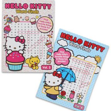 Hello Kitty Word Search Book Case Pack 240