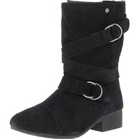 Volcom Womens Chick Flick Suede Casual Mid-Calf Boots