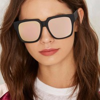 Quay On the Prowl Square Shades - Pink