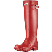 HUNTER ORIGINAL TALL MILITARY RED WELLINGTON BOOTS SZ 6 BN RED WELLY