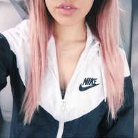 NIKE Fashion Women Men Jacket Coat