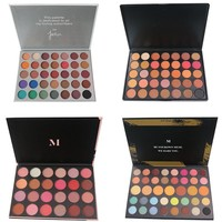 35S 39A 35O2 24G Jacly Hill Eyeshadow Pallete Glitter Makeup Shimmer Smoky Matte Eyeshadow Palette Maquillage Paleta De Sombras