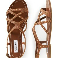 Amazon.com: Aeropostale Womens Studded Gladiator Sandals