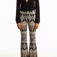Jersey Boho Bell Bottom Pants - FINAL SALE